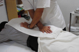 腰部・骨盤の治療の写真
